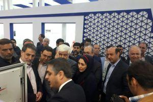 حضور دکتر عارف در غرفه شرکت خدمات مخابراتی ارگ جدید در نمایشگاه تله کام 2017